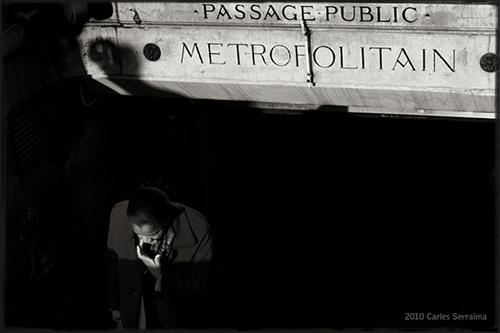"La imagen de la semana: ""Passage public"" de Carles Serraima"