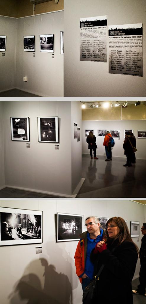 "Exposición ""La imagen de la semana 2009-2013″. Enfocats 2014. Centre Cívic Pati Llimona."