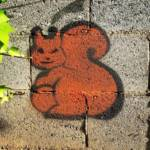 baldiri moblog » #squirrel #graffiti #streetart...
